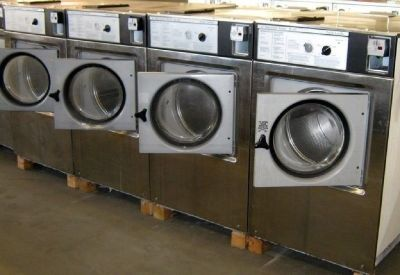 Heavy Duty Wascomat Front Load Washer W125 3PH Stainless Steel