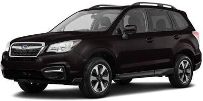 New 2018 Subaru Forester 2.5i CVT