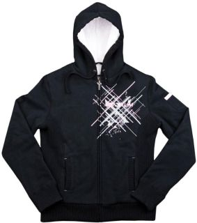 Sell 2013 Klim Women's Insulated Athena Hoody Hooded Sweatshirt Black Large motorcycle in Ashton, Illinois, US, for US $89.99