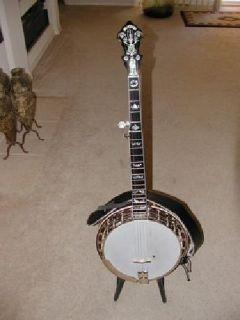 $2,575 Delux Flat Top Banjo Tennessee Crafters Flathead Banjo #147703-TNF