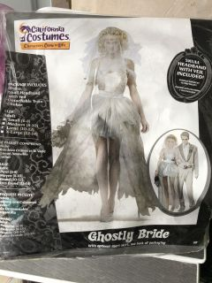 Ghostly bride Large NEVER BEEN WORN