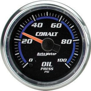 Buy AutoMeter 6153 Cobalt Electric Oil Pressure Gauge motorcycle in Suitland, Maryland, US, for US $232.02