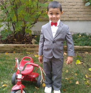 Gray Toddler suit
