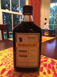 Kentuckyaki sauce - Never Opened - great for beef, pork,chicken, fish, sir-fry, grilled vegetables.