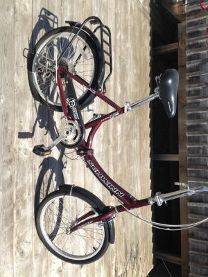Schwinn 20-inch hinge folding bike