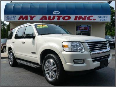 2008 Ford Explorer Limited (White Sand Tri-Coat)