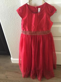 Beautiful red/sparkly Christmas dress