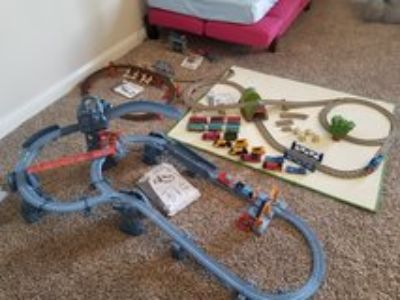 Thomas&Friends trackmaster sets (4)