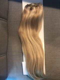 New 14 human hair clip in extensions