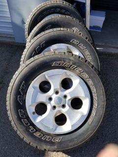 "18"" Stock Wheels & Tires for Jeep Wrangler"