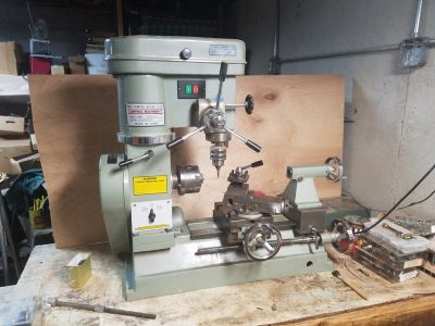 Lathe/Milling and Drilling Machine