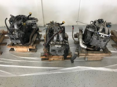 complete SUBARU Engines with hardware