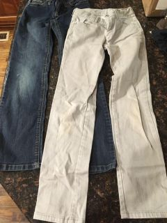 Pair of girls jeans, size 10