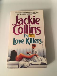 Jackie Collins - The Love Killers Paperback Book