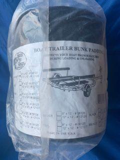 Boat trailer bunk padding 8x12