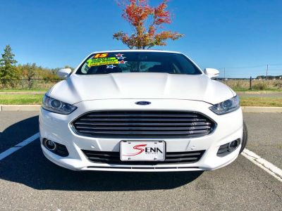 2015 Ford Fusion 4dr Sdn SE FWD (White)