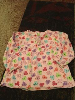 Jumping beans 12m pink ls cat print shirt - ppu (near old chemstrand & 29) or PU @ the Marcus Pointe Thrift Store (on W st)