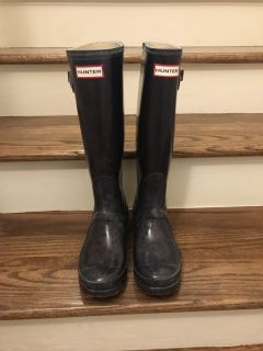 Hunter Boots with sock inserts