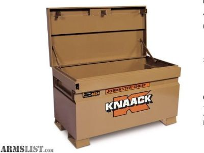 For Sale: LIKE NEW KNAACK JOB BOX