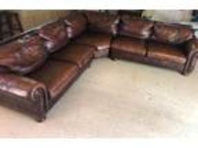 Thomasville Leather Sectional