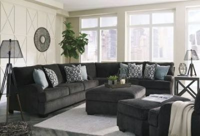 Signature Design Sofa and Loveseat Set