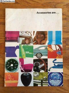 NOS Accessories Brochure