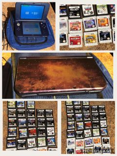 Nintendo 3DS XL with 35 Games