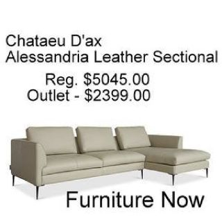 LEATHER FURNITURE OUTLET - FURNITURE NOW