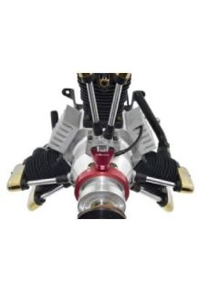 High-Quality Saito Radial Engine Ignition from Ch-Ignitions
