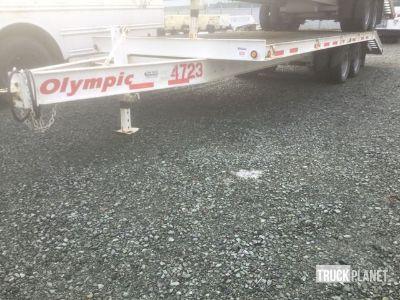 2017 Capital Olympic 12TFB-2 T/A Equipment Trailer