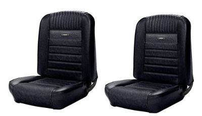 Find Full Set Deluxe PONY Seat Upholstery 1964 - 1966 Ford Mustang F/R - Any Color motorcycle in Los Angeles, California, United States, for US $349.99
