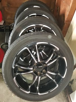 """22 """"rims tires are included"""