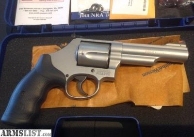 "For Sale: Smith & Wesson 69 4"" Barrel Stainless"
