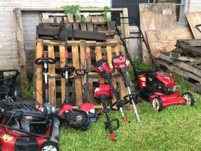 Mower weed eater blower chainsaw pressure washer for parts