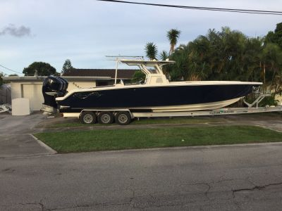 2012 Blackwater 36 center console with triple 300 verados $159,000