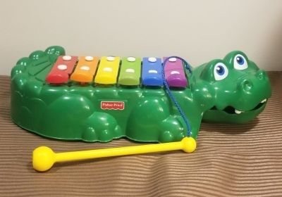 Fisher Price 2-in-1 Crocodile Xylophone