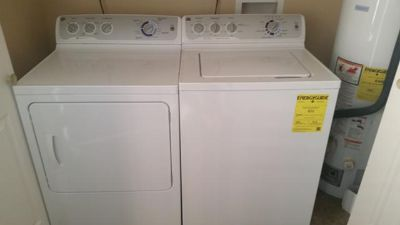 $450, GE Washer and gas dryer