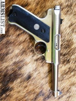 For Sale/Trade: Ruger Mark 2 .22 Stainless Target