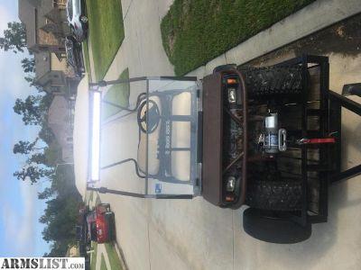 For Sale: Camo Gas Club Cart