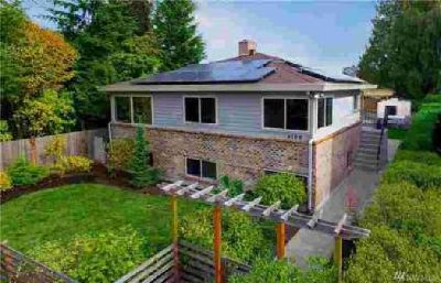 4108 54th Ave SW Seattle, Solar Powered Four BR home just