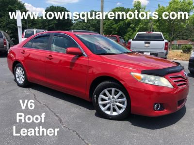 2011 Toyota Camry XLE V6 (Red Pearl)