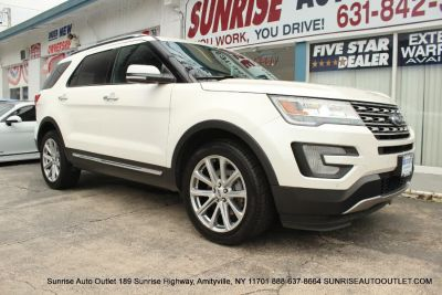 2017 Ford Explorer Limited 4WD (White Platinum Metallic Tri-Coat)