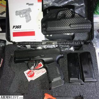 For Sale/Trade: SIG P365 LNIB
