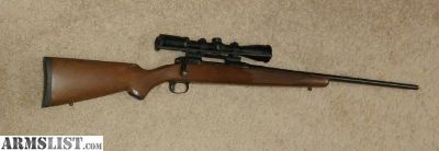 For Sale: Savage Model 11 300 WSM with Burris Scope