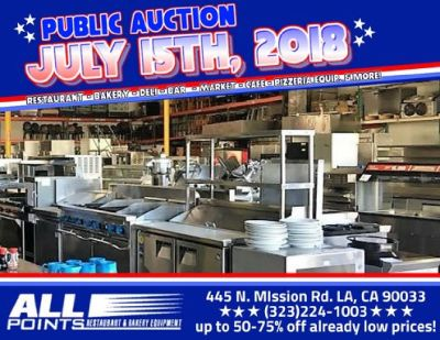 Restaurant Auction