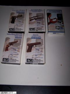 For Sale: American Gunsmith Institute VHS Tapes