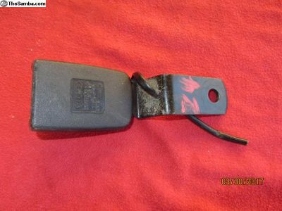 vanagon seat belt receiver #24