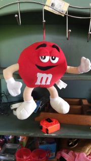 Vintage Red M&M Character