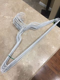 FREE!!! 27 metal clothes hangers. Ppu near White House middle school.