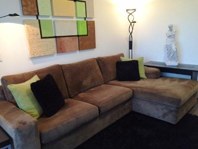 $900, Near New Sectional Sofa by Stylus